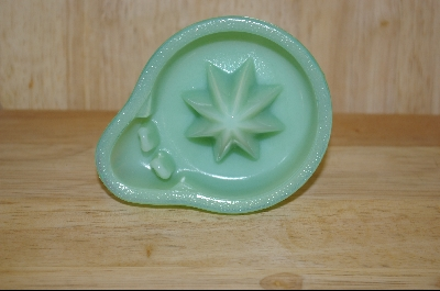 **Green Milk Glass Hand Held Reamer #5000