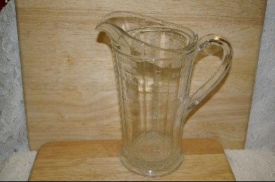 **Clear Glass Measuring Pitcher #4899