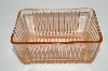 +MBA #60-235  Vintage Pink Glass Small Refrigerator Dish