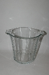 "+MBA  ""Very Large Vintage Clear Glass Ice Bucket"