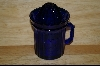 +Reproduction Cobalt Blue Cup W/ Reamer Top #4786