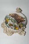 "**""Bugged Bear"" Covered Dish By Bev Doolittle"