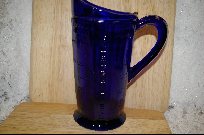**Reproduction Colbalt Blue Measuring Pitcher #5009