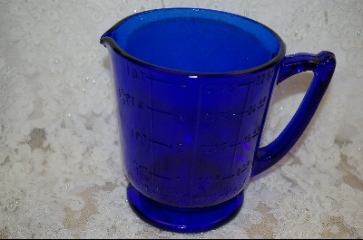 **Reproduction Colbalt Blue 4 Cup Pitcher #5025