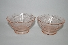 **MBA #62-188 MacBeth Evans Glass Set Of 4 Sherbert Cups