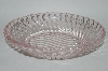 "**Vintage Pink Depression Glass ""Swirl Pattern""  Small Relish Dish"