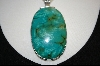 **The Mother Load Of Green Turquoise Pendant