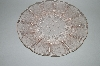 "** Set Of 2 Vintage Pink Depression Glass ""Cherry Blossom"" 9"" Dinner Plate"