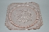 "** Vintage Pink Depression Glass  ""Adam""  Dinner Plate"