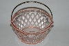 "**Vintage Pink Depression Glass ""Small"" Ice Bucket"