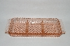 ** Vintage Pink Depression Glass 3 Part Relish Dish