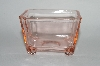 "** MBA #64-131  Vintage Pink Depression Glass ""Sugar Packet"" Holder"