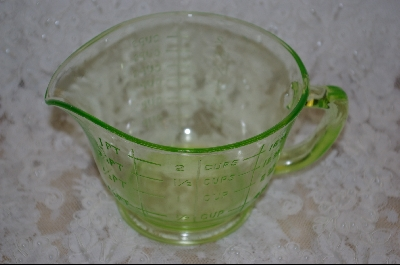 **Pale Green Measuring Cup #5029