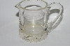 """SOLD""  MBA #64-392  Vintage Clear Depression Glass 2 Ounce Measuring Cup"