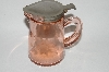 "MBA #63-049   Vintage Pink Depression Glass ""Wheel Cut"" Syrup Pitcher"