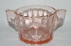 **MBA #64-353  Vintage Pink Depression Glass Sugar Bowl