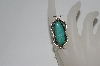 **MBA #65-145   Sterling Blue/Green Turquoise Navajo Ring