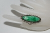 **MBA #65-139   Sterling Green Turquoise Ring