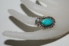 **MBA #65-198  Artist Signed Blue Turquoise Ring