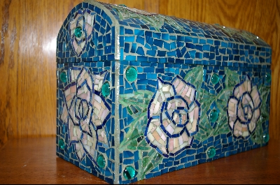 "The Blue ""Rose"" Chest"