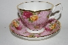 "**Royal Albert  ""2002"" Old Country Roses Dusky Pink Lace Cup & Saucer Set"