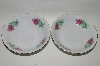 "**MBA #66-003   "" Baum Brothers ""Maria"" Pattern Set Of 2 Fruit/Desert Bowls"
