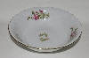 "**Wawel ""Pink  Three Roses"" Round Vegetable Bowl"