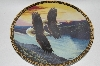 "1994 John Pitcher ""By Dawn's Early Light"" On The Wings Of Eagles Plate Series"