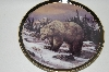 "MBA #68-061  ""1998 Trevor Swanson ""The Grizzly Bear"" Collectors Plate"
