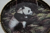 "1998 Trevor V. Swanson ""The Panda Bear"" Collectors Plate"
