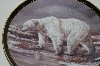 "1998 Trevor V. Swanson ""The Polar Bear"" Collectors Plate"