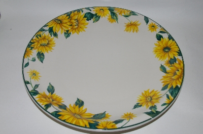 +MBA #69-108  Tender Heart Large Sunflower Serving Platter