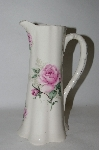 **MBA #70-7924   Antique Look Pink Claremont Vase / Pitcher