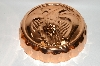 "MBA #70-8157    ""25 Year Old Copper American  ""Eagle"" Jello Mold"