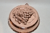 Vintage Grape Motif Copper Jello Mold
