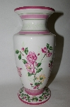 **MBA #69-019  Laura Ashley Home Floral Vase