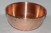 25 year Old Copper Mixing Bowl