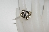 "**MBA #76-081  ""10K Yellow Gold Diamond Ring"