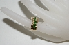 **MBA #76-046  14K Yellow Gold Tsavorite & Diamond Ring