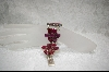**  Russian Ruby Flower Bracelet