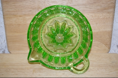 **Large Green Glass Reamer #5120