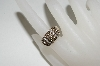 **MBA #76-004  14K Yellow Gold Chocolate & White Diamond Ring