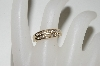 ** 14k Yellow Gold Round Cut All Channel Set Diamond Ring
