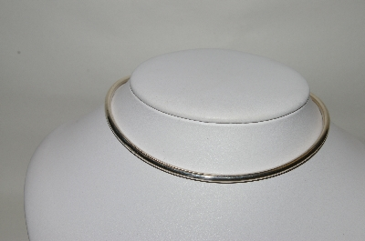 "**MBA #78-214   Sterling Round Edge 16"" Neck Wire"