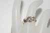 **MBA #77-025  14k Yellow Gold Circle Diamond Ring