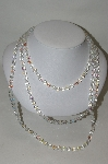 **MBA #78-156  Set Of  3 AB Glass Bead Necklaces