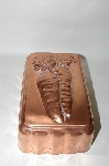 "Vintage ""Carrot Motif"" Copper Loaf Mold"