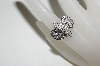 **MBA #80-0058  14k White Gold Fancy 1 CT Diamond Ring