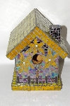 One Of A Kind Floral Glass Hand Mosaic Bird House