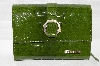"**MBA #82-113  ""Charlie Lapson Olive Green ""Simona"" Wallet"